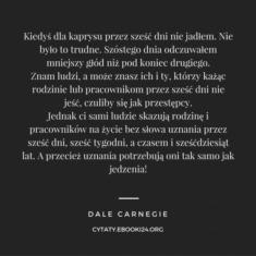 ✩ Dale Carnegie cytat o uznaniu ✩ | Cytaty motywacyjne