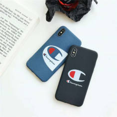 チャンピオン iPhoneXS/XS Max/XRケース カップル 芸能人愛用 iPhone8/7 plusケース