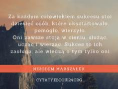 ✩ Nikodem Marszałek cytat o osiąganiu sukcesu ✩ | Cytaty motywacyjne