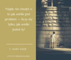 ✩ T. Harv Eker cytat o problemach ✩ | Cytaty motywacyjne