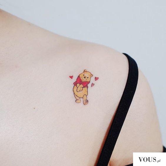tatuaż puchatek