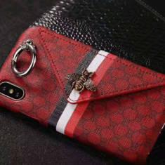 カード入れ グッチ iphoneXs MAX レザーケース Gucci アイフォンテンアール スマホケース