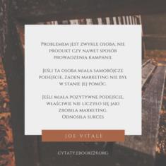 ✩ Joe Vitale cytat o problemach i sukcesie ✩ | Cytaty motywacyjne