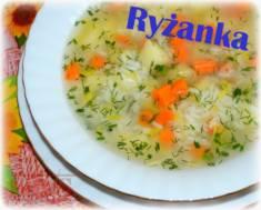 RYŻANKA – zupa lubiana przez wrażliwe brzuchy;)  Lekka zupa ryżowa | Blog Kulinarny