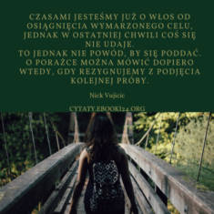 ✩ Nick Vujicic cytat o porażce ✩ | Cytaty motywacyjne