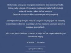 ✩ Wallace D. Wattles cytat o biedzie ✩ | Cytaty motywacyjne