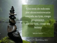 ✩ Brian Tracy cytat o sukcesie ✩ | Cytaty motywacyjne