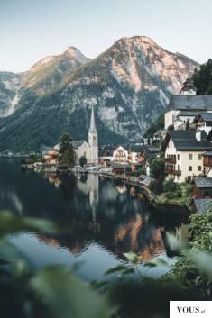 miasteczko nad wodą, piękna kraina
