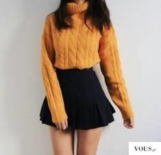miodowy sweterek