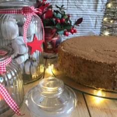 Tort cynamonowy z powidłami śliwkowymi | AleTorcik! – przepisy na pyszne, domowe ciasta, c ...