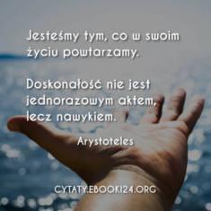 ✩ Arystoteles cytat o doskonałości ✩ | Cytaty motywacyjne