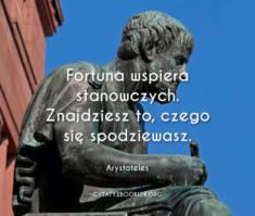 ✩ Arystoteles cytat o fortunie ✩ | Cytaty motywacyjne