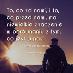 ✩ Oliver Wendell Holmes cytat o tym co ważne ✩ | Cytaty motywacyjne