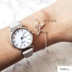 zegarek szary z małą tarczą OTIEN