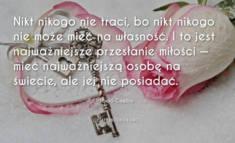 ✩ Paulo Coelho cytat o najważniejszym przesłaniu miłości ✩ | Cytaty motywacyjne
