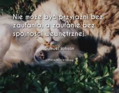 ✩ Samuel Johson cytat o zaufaniu ✩ | Cytaty motywacyjne
