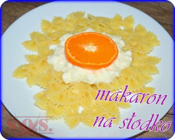 Makaron z twarogiem i śmietaną   Blog Kulinarny Danie z mojej dawnej szkolnej stołówki;D Szybkie ...