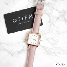 Zegarek damski z kwadratową kopertą, sklep internetowy z tanimi i dobrymi zegarkami OTIEN