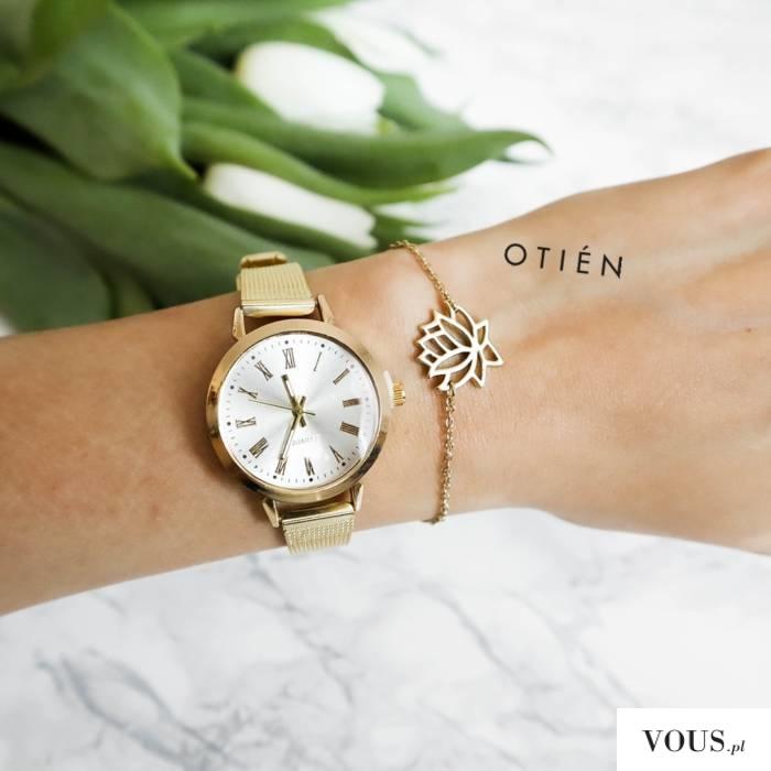 Zegarek Orival złoty Zegarki Otien, dobre i tanie do 100zł