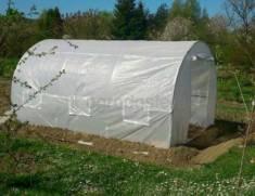 Namiot foliowy metalowy 2,5x4m biały Garden Point  –  Ogrodosfera.pl