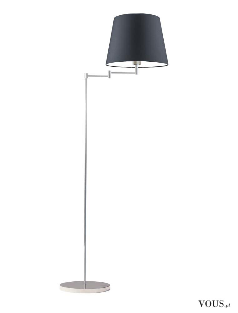 Lampa stojąca Asti od razu zwraca uwagę swoją minimalistyczną konstrukcją. Ramię lampy oparte je ...