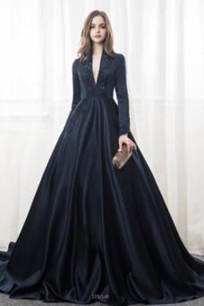 Vestidos de novia negros baratos, Vestidos negros de novia online
