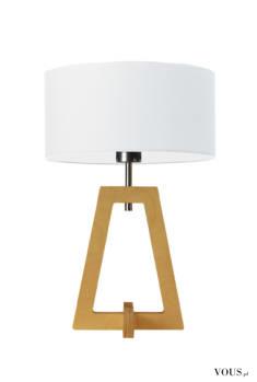 Design drewnianej lampy stołowej Clio jest świadomie minimalistyczny, a jej wykonanie bazuje prz ...