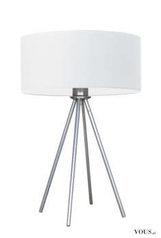 Lampka stołowa SIERRA to awangardowa lampa o unikatowej konstrukcji. Może posłużyć jako lampka n ...
