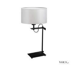 Lampka stołowa Alaska to prosta i geometryczna forma zawarta w smukłym kształcie i idealnych pro ...