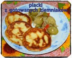 Placki z gotowanych ziemniaków | Blog Kulinarny