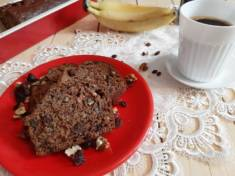 Ciasto bananowe z cynamonem i bakaliami | AleTorcik! – przepisy na pyszne, domowe ciasta,  ...