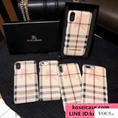 バーバリー BURBERRY iphone10 ケース ブランド アイフォン 10s max ケース アイフォン8/7 プラス ペア ...