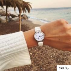Biały zegarek damski OTIEN