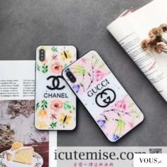 シャネル chanel iphoneXs max/Xs ケース 鏡面 グッチ GUCCI iphone10r/10s max ケース クロムハーツ i ...