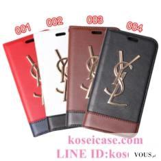 イブサンローラン YSL iphoneXs max ケース 手帳型 革 iphoneXs/Xr ケース 男女兼用 アイフォン テン/1 ...