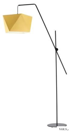 Lampa podłogowa TOLEDO to designerskie rozwiązanie do nowoczesnych wnętrz, które oprócz walorów  ...