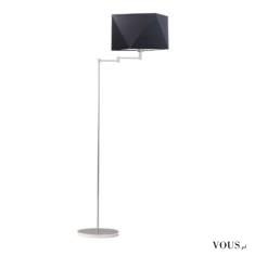Lampa stojąca SANTIAGO zaskoczy Cię nieszablonowym designem i funkcjonalnością. Ramię lampy umie ...