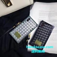 iphonexs max/xr/xs ケース セレブ愛用 ブランド マイケルコース MK アイホンテン/8/7 plus カバー 編 ...
