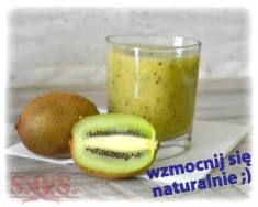 Koktajl z kiwi i pomarańczy | Blog Kulinarny