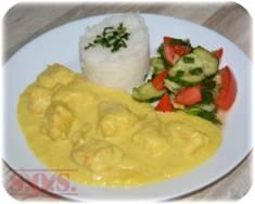 Kurczak w sosie curry | Blog Kulinarny