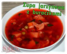 Zupa jarzynowa z buraczkami | Blog Kulinarny