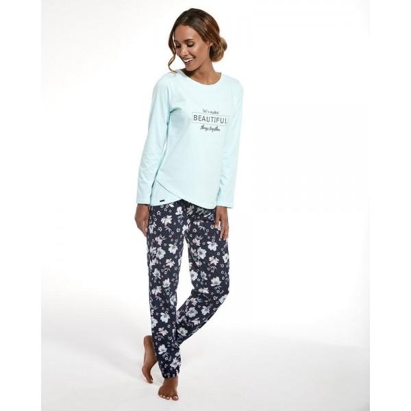 Piżama damska BEAUTIFUL z miekkiej bawełny poleca sklep radlo