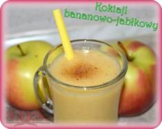 Koktajl z jabłka i banana | Blog Kulinarny