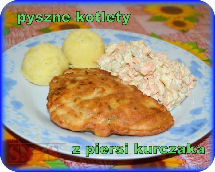 Kotlety drobiowe z serem i majonezem | Blog Kulinarny