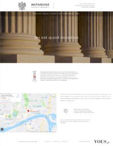 Notariusz – strona internetowa dla kancelarii notarialnej https://www.notariusz-bajzert.pl/