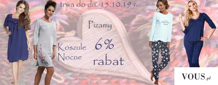 #Piżamy i #koszule nocne promocja 6% rabat zapraszamy serdecznie Pradlo zapraszamy serdecznie  h ...