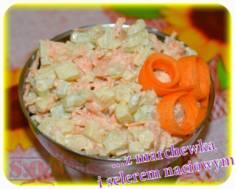 Surówka z selerem naciowym | Blog Kulinarny