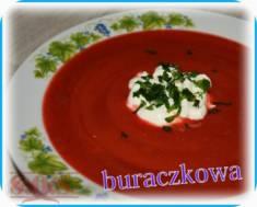 Zupa krem z buraków | Blog Kulinarny