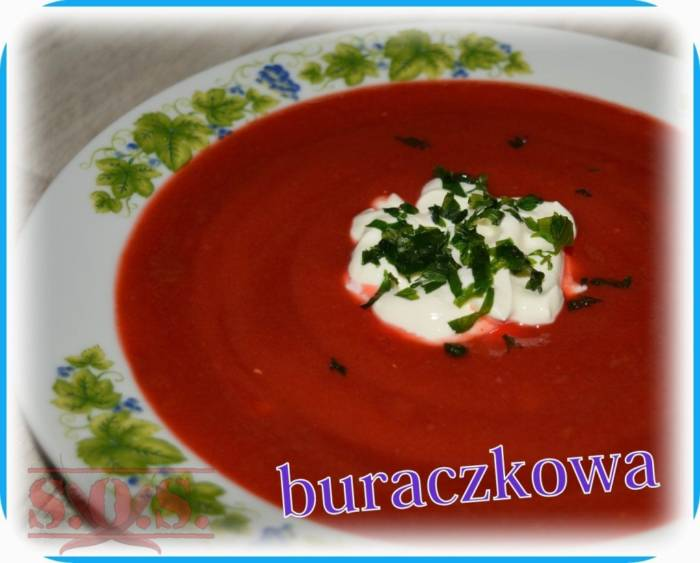 Zupa krem z buraków   Blog Kulinarny