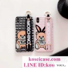 モスキーノmoschino iphone11 ケース iphone11 pro/xs maxケース クマ iphone11 pro max/xr/xs 保護ケ ...